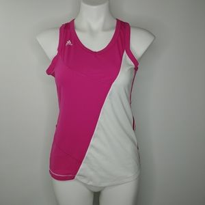 Adidas Climacool Hot Pink and White Women's Running Top